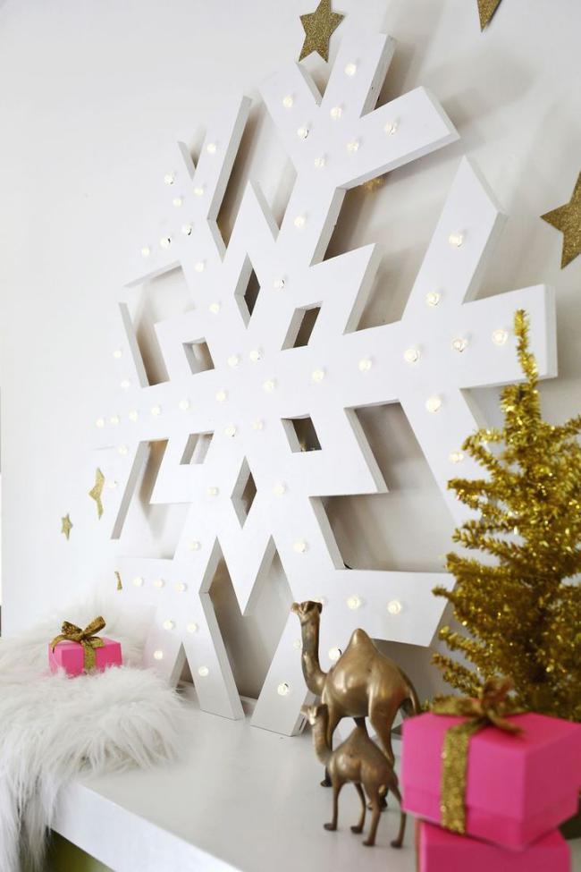 Поделки для украшения комнаты на новый год, фото 24