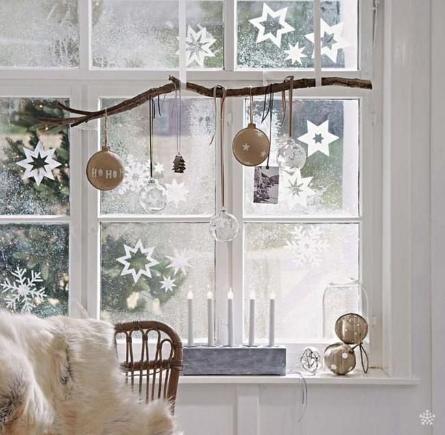 Уютное украшение комнаты к новому году, фото 31