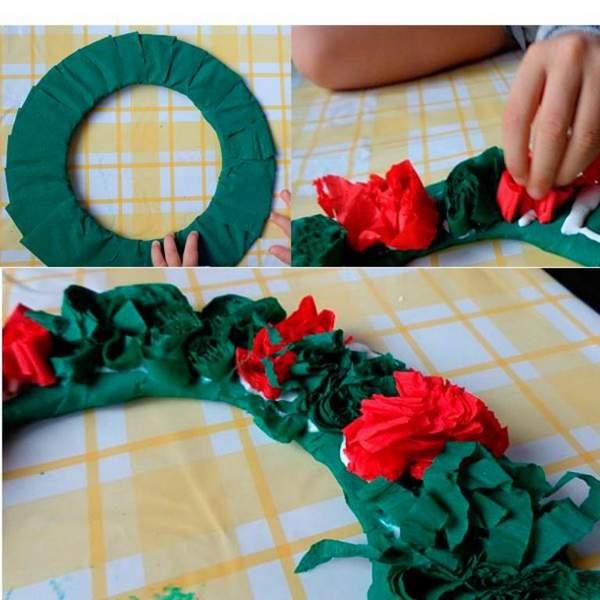 новогодние игрушки из гофрированной бумаги своими руками, фото 21