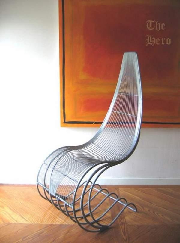 как сделать кресло качалку своими руками, фото 42