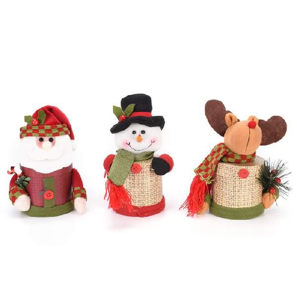 новогодние игрушки из флиса своими руками выкройки, фото 10