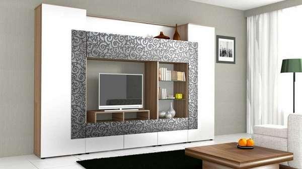 стенка горка в гостиную в современном стиле, фото 12
