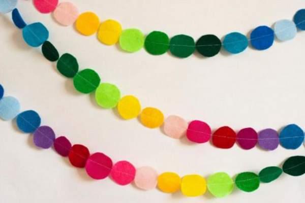 новогодние игрушки из цветной бумаги своими руками, фото 39