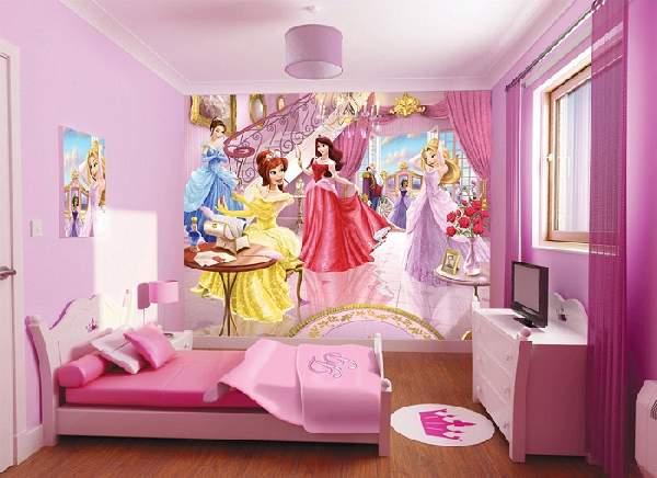 фотообои в детскую комнату для девочек, фото 20