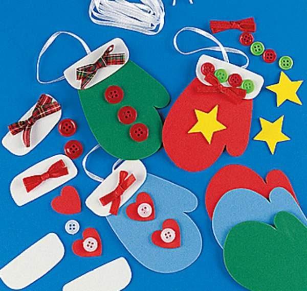 новогодние игрушки из цветной бумаги своими руками, фото 27