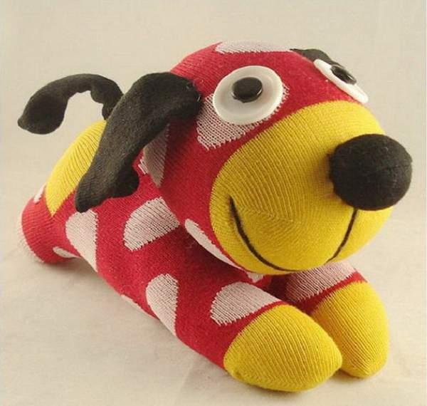 новогодняя игрушка собака своими руками, фото 2
