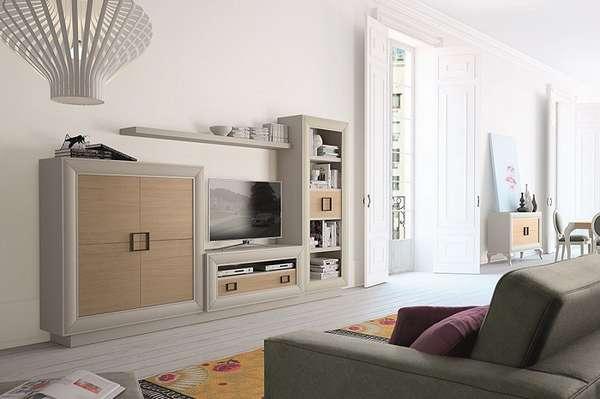 мини стенка в гостиную в современном стиле, фото 30
