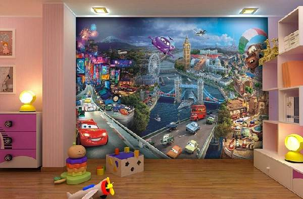 фотообои в детскую комнату для мальчиков, фото 17