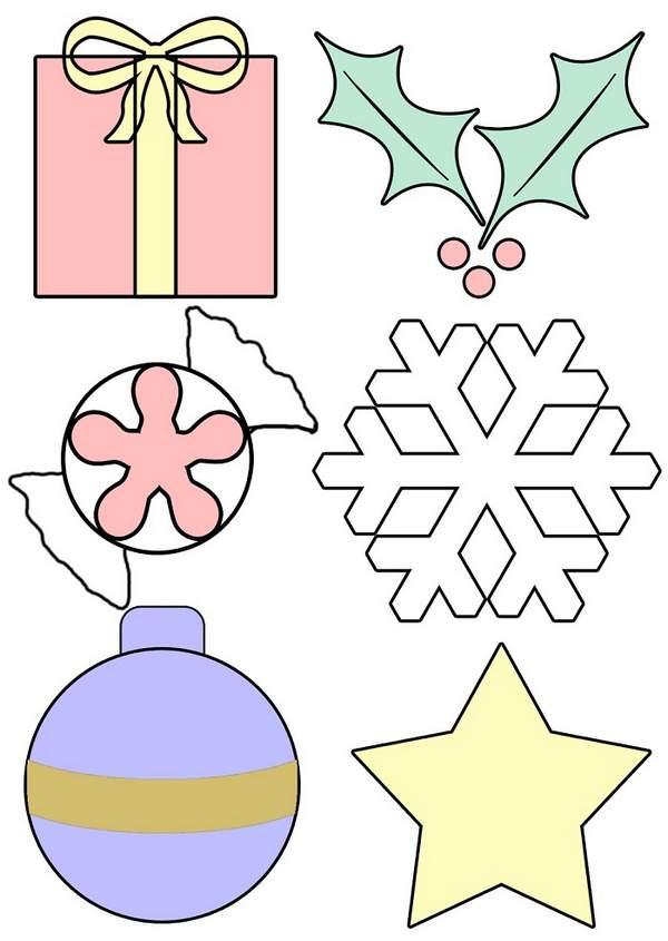 шьем новогодние игрушки из фетра своими руками, фото 12