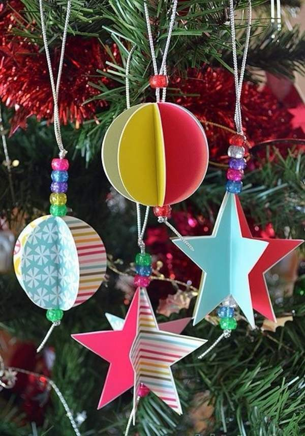 оригинальные новогодние игрушки своими руками на елку, фото 13
