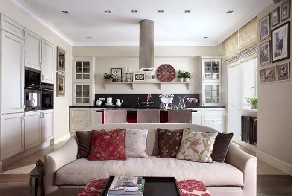Дизайн кухни-столовой 20 кв м, фото 33
