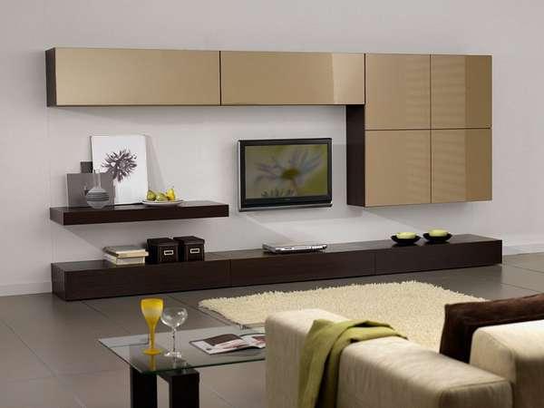 модульная стенка в гостиную в современном стиле фото, фото 6