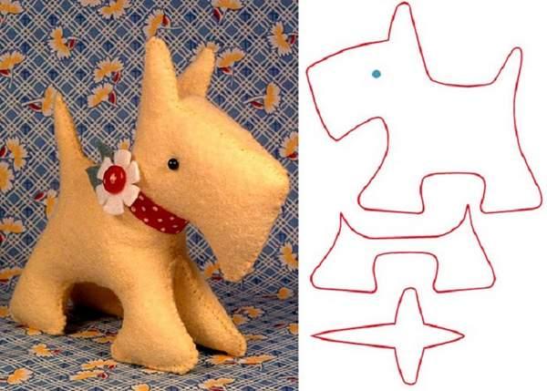 вязаные игрушки собаки новогодняя тематика своими руками, фото 5