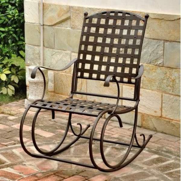 кованые кресла качалки, фото 32