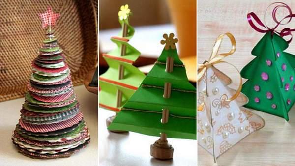 красивые новогодние игрушки своими руками из бумаги, фото 3