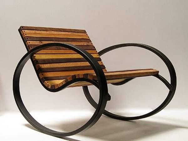 кованые кресла качалки фото, фото 33