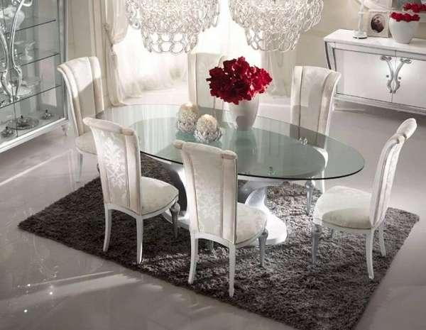 маленькие овальные столы, фото 6