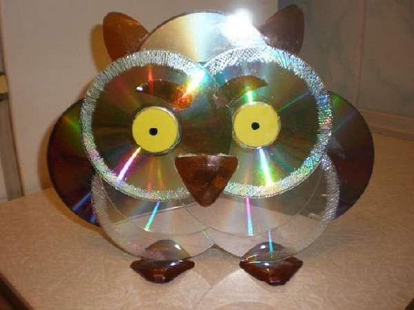 поделки из дисков своими руками, фото 21