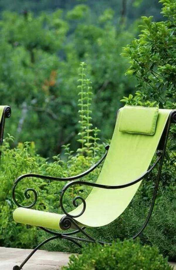 кованые кресла качалки, фото 34