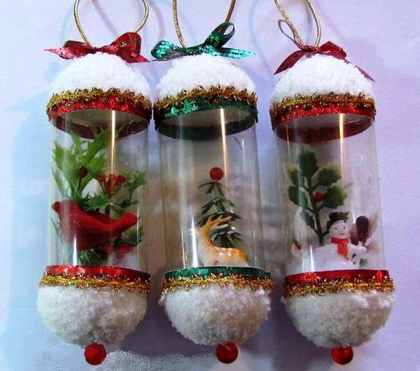 Новогодние игрушки на уличную елку своими руками, фото 39