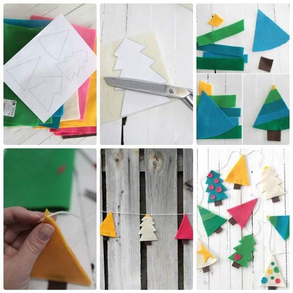как можно сделать новогоднюю игрушку своими руками, фото 30