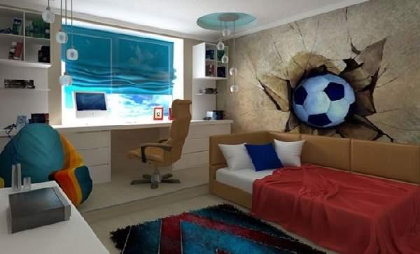 фотообои для детской комнаты для мальчика подростка, фото 27
