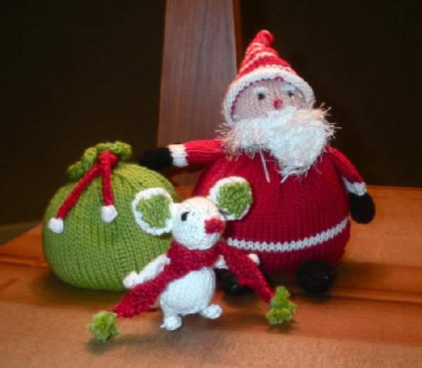 новогодние игрушки из пряжи своими руками, фото 21
