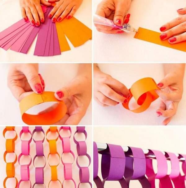 красивые новогодние игрушки своими руками из бумаги, фото 38