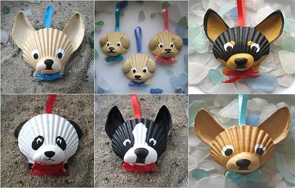 новогодняя игрушка собака своими руками для детей, фото 28