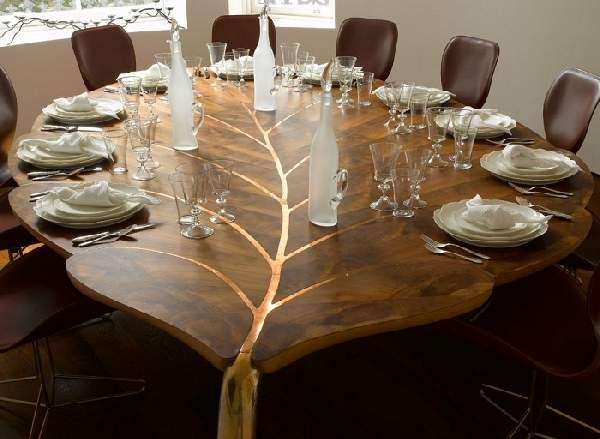 дизайнерская мебель из массива дерева, фото 9