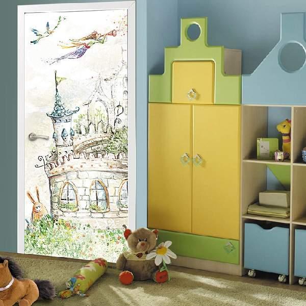 фотообои на дверь детские, фото 11