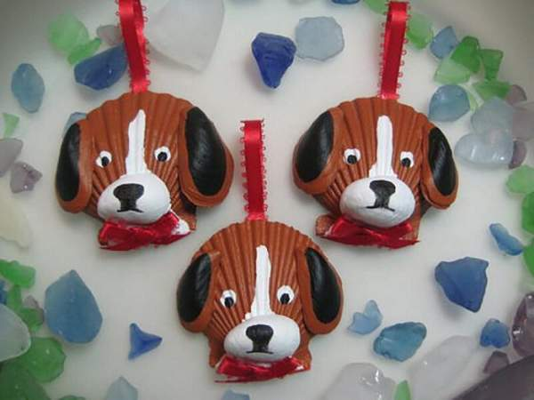 новогодняя игрушка в виде собаки своими руками, фото 29