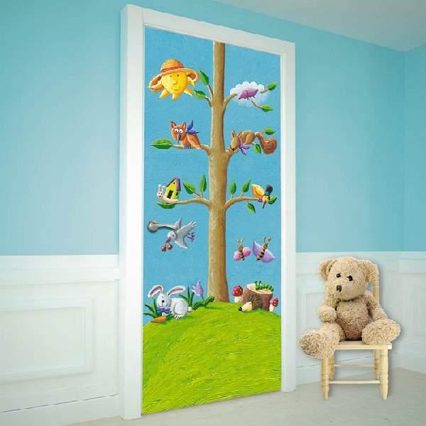 фотообои на дверь детские, фото 12