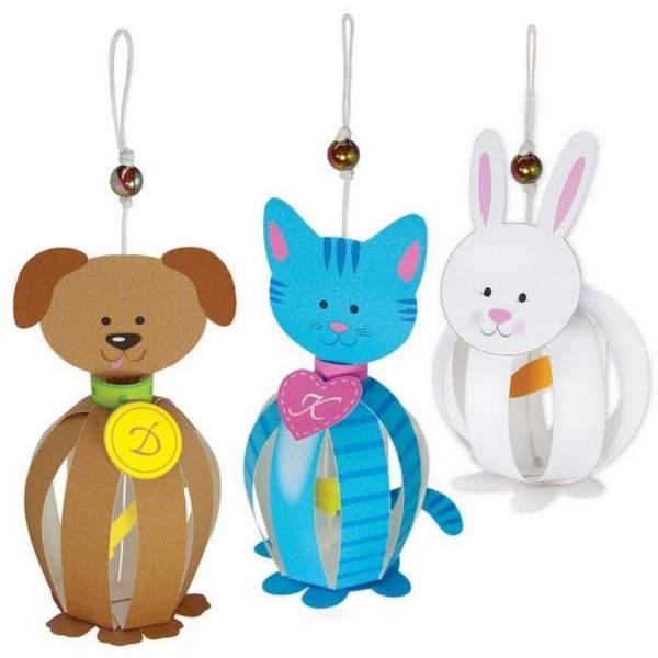 поделки из бумаги новогодние игрушки своими руками, фото 5