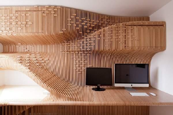 дизайнерская мебель из фанеры, фото 4