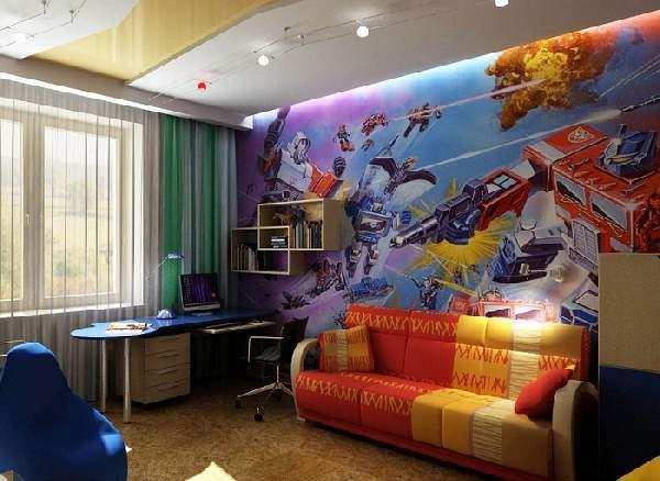 фотообои трансформеры в детскую комнату, фото 1