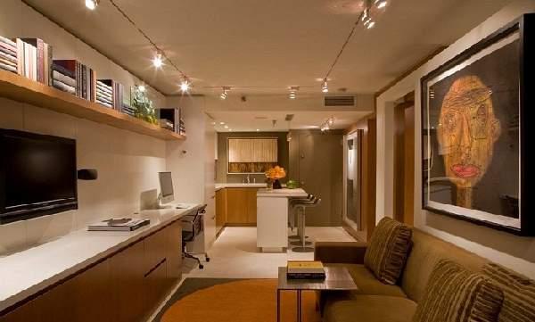 Кухня гостиная 20 кв м, фото 2