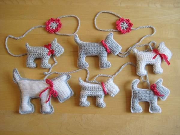 новогодняя игрушка собака своими руками для детей, фото 9