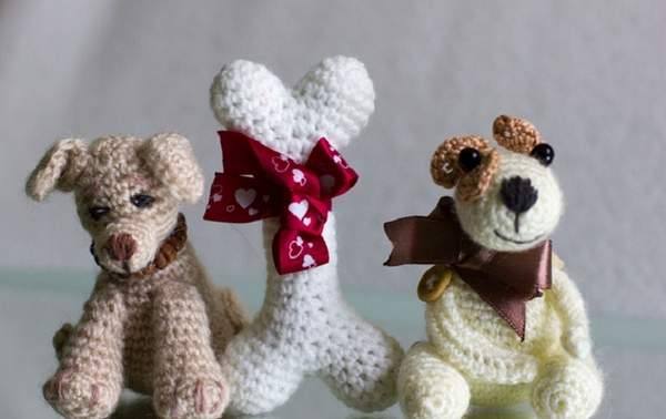 новогодняя игрушка в виде собаки своими руками, фото 10
