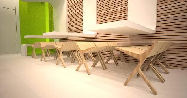 дизайнерская мебель из фанеры, фото 6