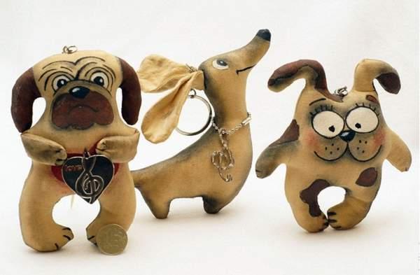 поделка новогодняя игрушка собачка своими руками, фото 18