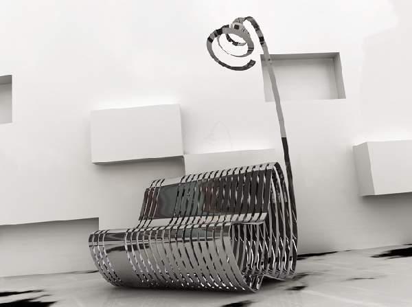 дизайнерская мебель из металла, фото 12