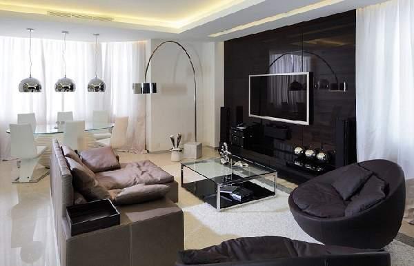 Дизайн кухни столовой гостиной 20 кв м, фото 26