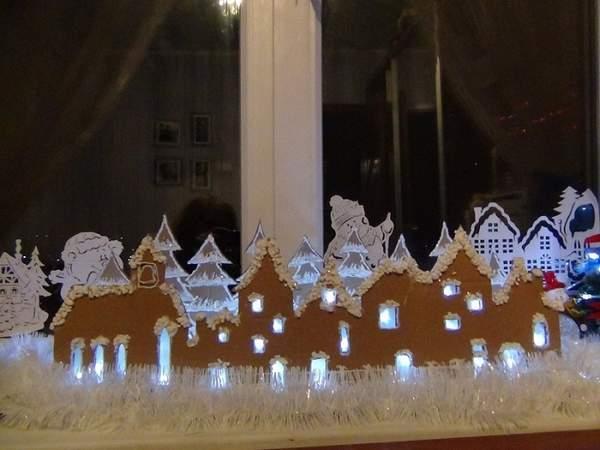 гирлянда новогодняя с подсветкой из бумаги, фото 33