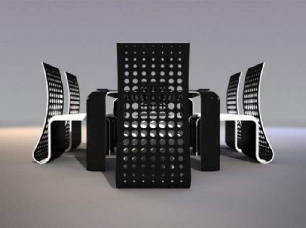 дизайнерская мебель из металла, фото 16