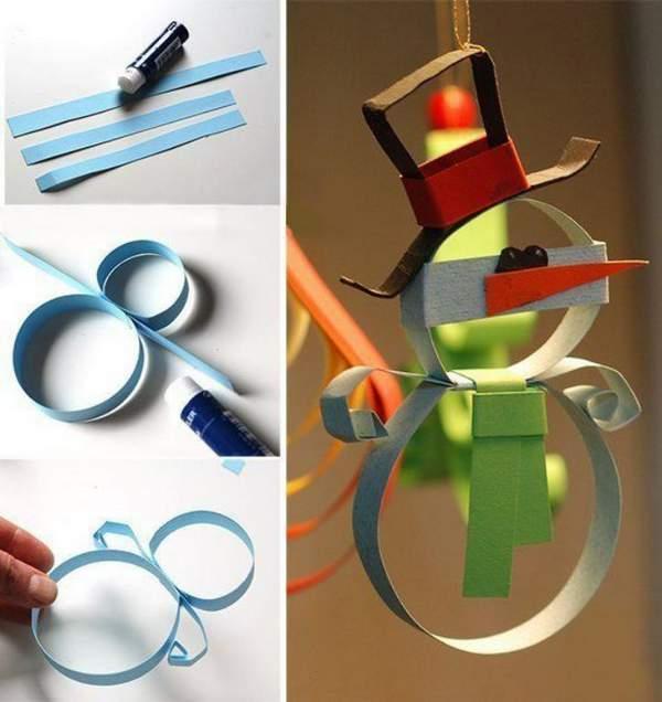 как можно сделать новогоднюю игрушку своими руками, фото 42