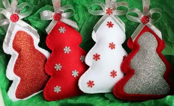 новогодние игрушки из войлока своими руками, фото 5