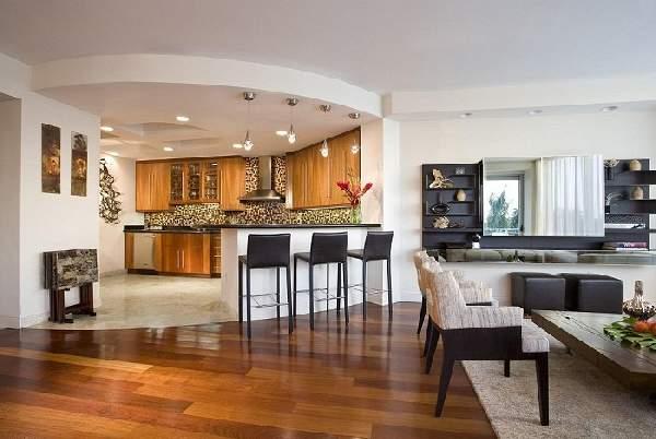 Зонирование кухни гостиной 20 кв м фото, фото 14