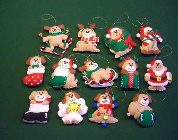 новогодние игрушки на елку своими руками, фото 3