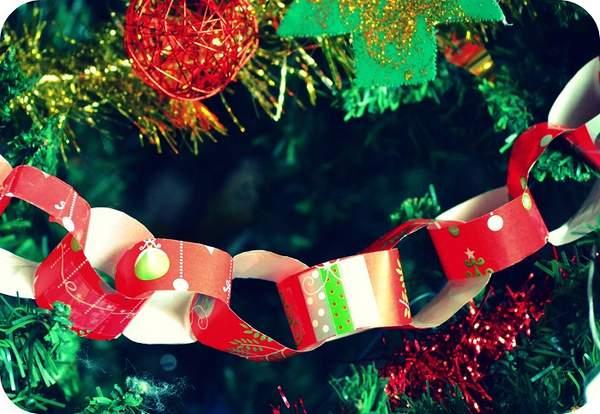 Новогодние гирлянды из бумаги своими руками, фото 2